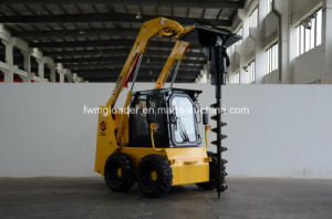 Multifunctional Ws50 Skid Steer Loader with Auger