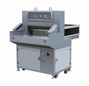 Hydraulic Paper Cutting Machine (QZYX660) pictures & photos