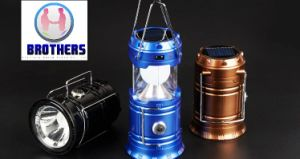 LED Lamp, Portable Lantern Camping Lamp 3W 800lm 6LEDs Lanterna Outdoor Lamps Emergency Flashlights