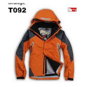 Orange Hiking Climbing Clothes Hoody Jacket pictures & photos