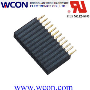 1.27mm H=8.5mm Single Row of Female Connectors pictures & photos