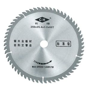 Tct Circular Saw Blade for Cutting Wood and Aluminum pictures & photos