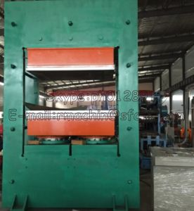 Ce Standard Frame Type Rubber Vulcanizing Press pictures & photos