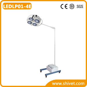 Veterinary Rechargeable Mobile Battery Surgical Light (LEDLP01-4E) pictures & photos