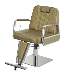 Antique Yellow Reclining with Headrest Barber Chair (MY-07-66) pictures & photos