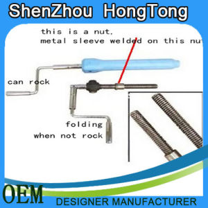 Folding Crank Handle for Home Care Bed pictures & photos