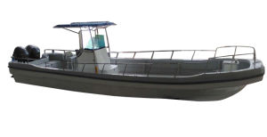 Aqualand 32feet 9.6m Fiberglass Fishing Boat/Panga Boat (320PRO) pictures & photos
