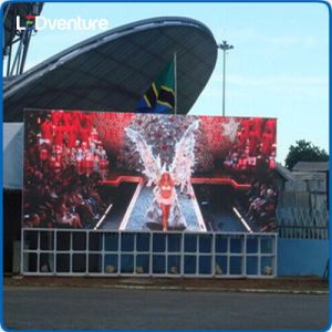 pH5.95 Outdoor Rental LED Display Screen 500X1000mm Cabinet pictures & photos