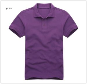 Premium Combed Cotton Men Plain Single Color Polo Shirt 2016 pictures & photos