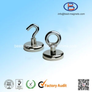 10 Years Experience ISO Supplier of High Quality Magnetic Hook with Strong Neodymium Permanent Magnet pictures & photos