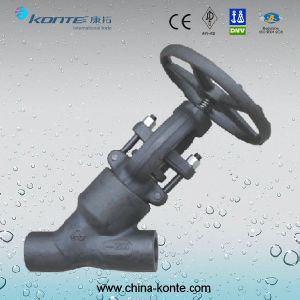 Forged Y Type Globe Valve with CE Certificate pictures & photos