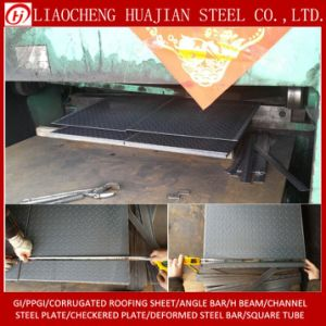 1.8~15mm Thickness Checkered Steel Plate with OEM pictures & photos