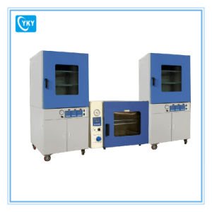 Floor-Stand Vacuum Oven with Two Heating Zones and Vacuum Pump & Water Chiller pictures & photos