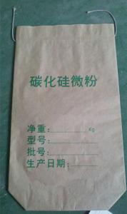 Seam Bottom Kraft Paper Bag for Silicon Carbide Powder pictures & photos