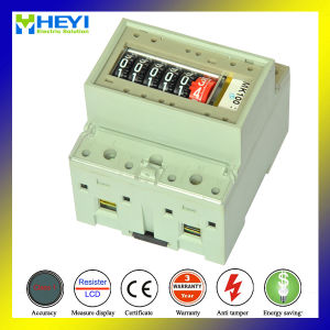 DIN Rail Kwh Meter RS485 Modbus for Solar Power Supply System 5/32A 230V Wireless pictures & photos