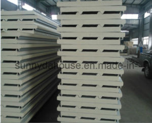 PU Roof Sandwich Panel / PU Wall Sandwich Panel (SD-233) pictures & photos