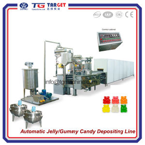 Gummy Bear Candy Depositing Line Jelly Candy Machine pictures & photos