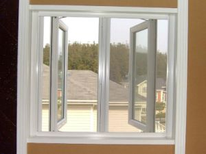 High Quality PVC Casement Glass Window with Ex-Factory Price for Residential House (PCW-001) pictures & photos