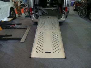 Electric Wheelchair Ramp for Van pictures & photos