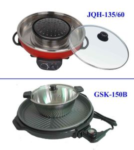 BBQ Grill with Hotpot