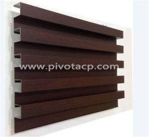 Wooden Texture Aluminum Tube Ceiling Sepcial Design Very Durable