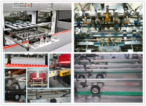 Automatic Paper Die Cutter & Paper Creaser pictures & photos