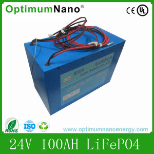 24V 100ah LiFePO4 Battery Pack for Home Energy Storage System pictures & photos