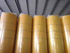 160g Factory Direct Sales Yellow Fiberglass Mesh for External Wall Insulation pictures & photos