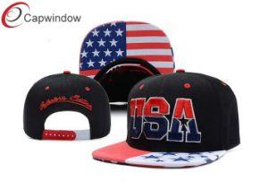 USA Flag Printing Snapback Baseball Cap pictures & photos
