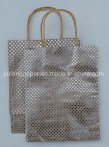 Best Quality Kraft Paper Bag Hot Foil Stamping pictures & photos