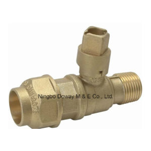 Lockable Ball Valve with Square Head pictures & photos