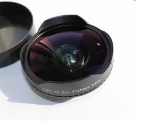 0.3X to 0.7X Optical Perfect Fisheye Lens for Camera with Superior Quality pictures & photos