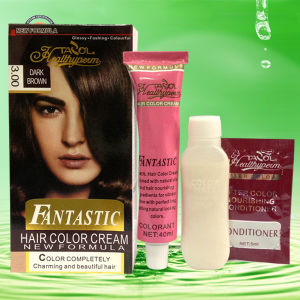 40ml*2 Fantastic House-Use No Damage Hair Dye pictures & photos