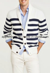 Men′s Fashion Knit Cardigan Sweater