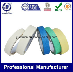 Colorful Masking Tape ISO, SGS Approved Crepe Paper Tape pictures & photos