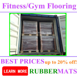 China Factory Supplier Commercial Home Gym EPDM Rubber Flooring pictures & photos