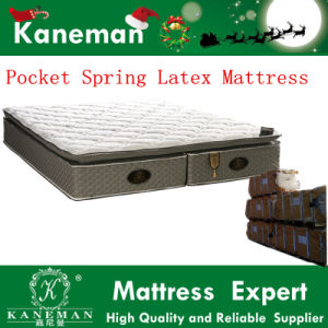 Star Hotel Pocket Spring Latex and Memory Foam Top Mattress pictures & photos