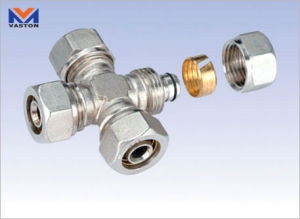 Pex Brass Fitting (VT-6835) , Brass Compression Fitting pictures & photos