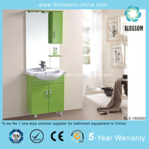Made in Hangzhou Floor Mounted PVC Bathroom Vanity (BLS-16026D) pictures & photos