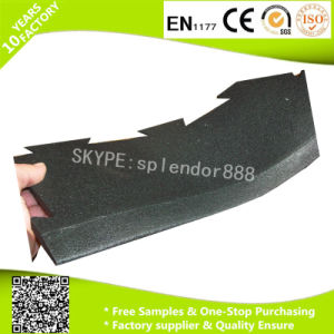 Interlock Rubber Corner for Gym Rubber Flooring Sports Beautiful Border pictures & photos