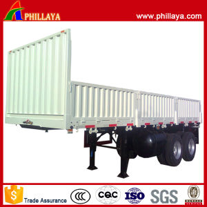 Cargo Transport 2 Axle Side Wall Truck Trailer pictures & photos