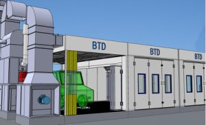 Btd High Efficiency Auto Painting Line pictures & photos