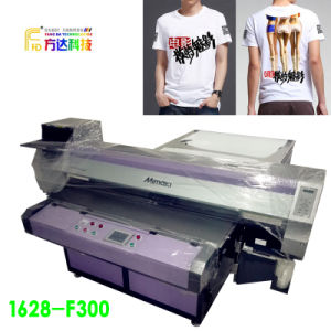 High Speed Flatbed Digital Printer for T-Shirt pictures & photos