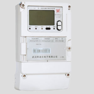 Three Phase Fee Charged Smart Energy Meter with Carrier Communication pictures & photos