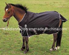 Waterproof Breathable Black Mini Horse Rugs Smr1668