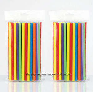 China Supplier Factory Cheap Price Plastic Straight Straw (70076) pictures & photos