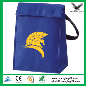 Custom 6 Pack Non Woven Insulated Thermal Lunch Cooler Bag Wholesale pictures & photos