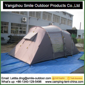 Luxury Family Professional Fireproof Camping Tent Thick Canvas pictures & photos