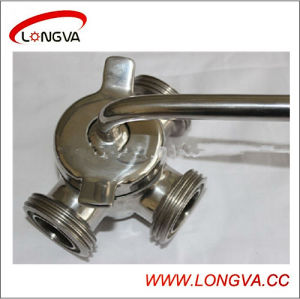 Stainless Steel 3-Way Male Thread Plug Valve pictures & photos