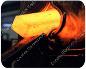 Industrial Electric Induction Heating Forging Furnace for Metal Foundry Mf-80kw pictures & photos